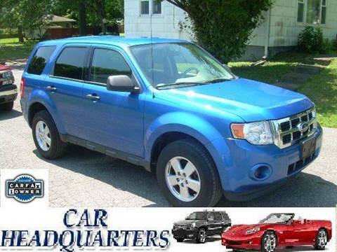2012 Ford Escape for sale at CAR  HEADQUARTERS in New Windsor NY