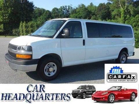 2014 Chevrolet Express Passenger for sale at CAR  HEADQUARTERS in New Windsor NY