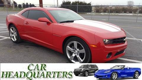 2012 Chevrolet Camaro for sale at CAR  HEADQUARTERS in New Windsor NY