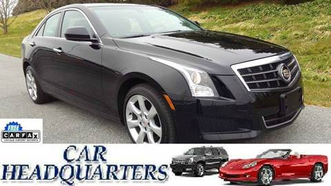 2014 Cadillac ATS for sale at CAR  HEADQUARTERS in New Windsor NY