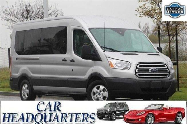 a055d43da1 2017 Ford Transit Wagon 350 XLT 3dr LWB Medium Roof Passenger Van w Sliding  Side