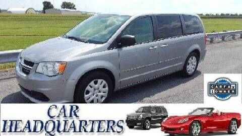 2015 Dodge Grand Caravan for sale at CAR  HEADQUARTERS in New Windsor NY