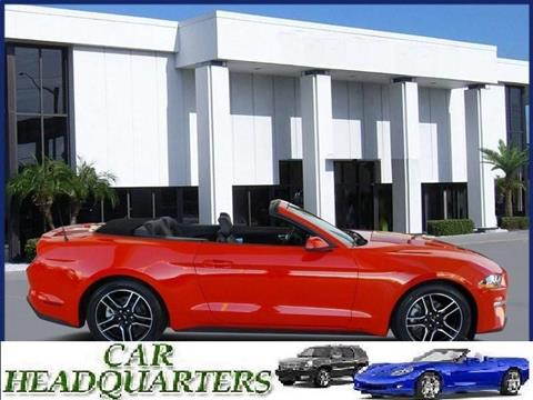 2018 Ford Mustang for sale at CAR  HEADQUARTERS in New Windsor NY