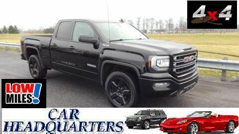 2018 GMC Sierra 1500 for sale at CAR  HEADQUARTERS in New Windsor NY