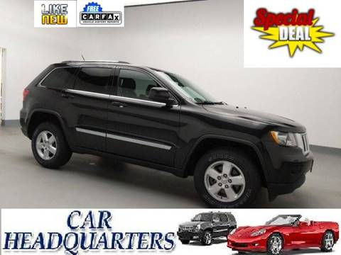 2012 Jeep Grand Cherokee for sale at CAR  HEADQUARTERS in New Windsor NY