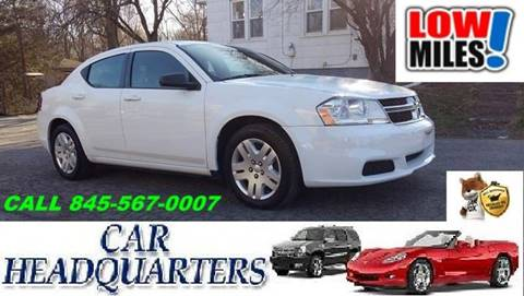 2012 Dodge Avenger for sale at CAR  HEADQUARTERS in New Windsor NY