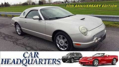 2005 Ford Thunderbird Deluxe for sale at CAR  HEADQUARTERS in New Windsor NY