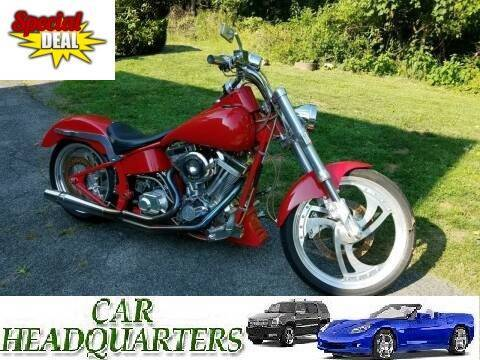 1998 TITAN GECKO SOFTAIL CHOPPER for sale at CAR  HEADQUARTERS in New Windsor NY