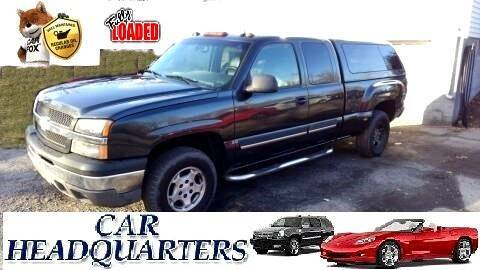 2003 Chevrolet Silverado 1500 for sale at CAR  HEADQUARTERS in New Windsor NY