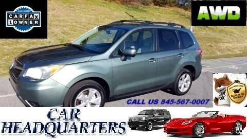 2015 Subaru Forester for sale at CAR  HEADQUARTERS in New Windsor NY