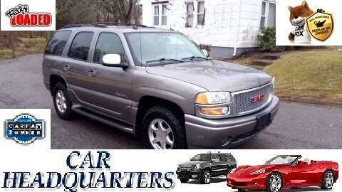 2005 GMC Yukon for sale at CAR  HEADQUARTERS in New Windsor NY