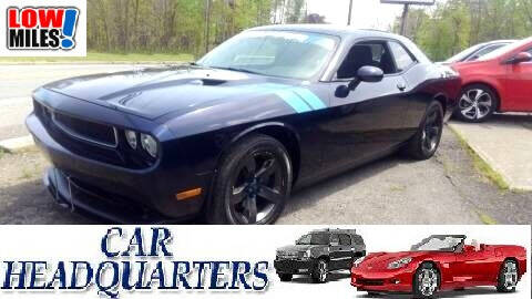 2011 Dodge Challenger SE for sale at CAR  HEADQUARTERS in New Windsor NY