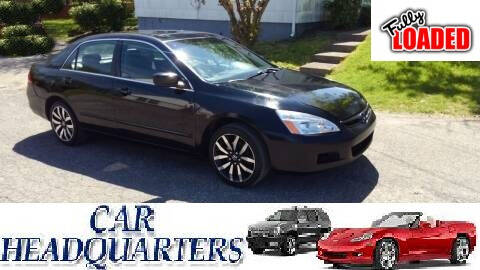 2007 Honda Accord for sale at CAR  HEADQUARTERS in New Windsor NY