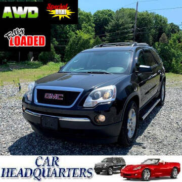 2012 GMC Acadia for sale at CAR  HEADQUARTERS in New Windsor NY