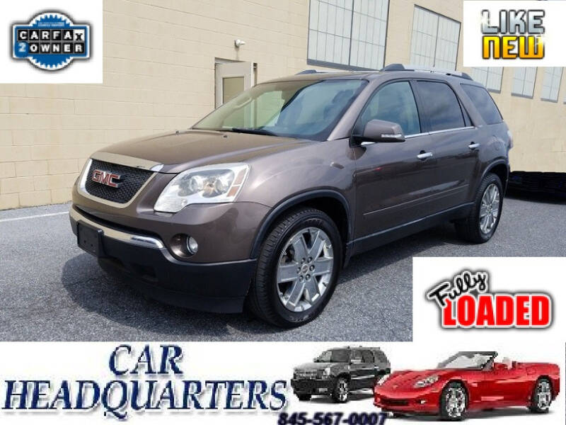 2010 GMC Acadia for sale at CAR  HEADQUARTERS in New Windsor NY