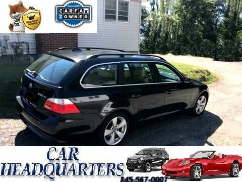 2006 BMW 5 Series for sale at CAR  HEADQUARTERS in New Windsor NY