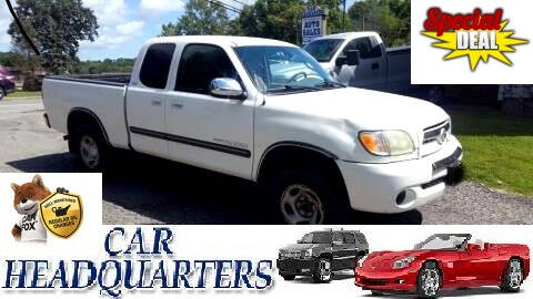 2003 Toyota Tundra for sale at CAR  HEADQUARTERS in New Windsor NY