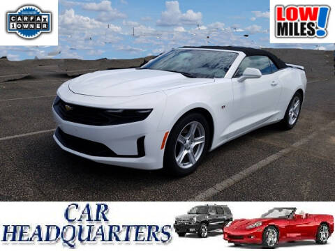 2019 Chevrolet Camaro for sale at CAR  HEADQUARTERS in New Windsor NY