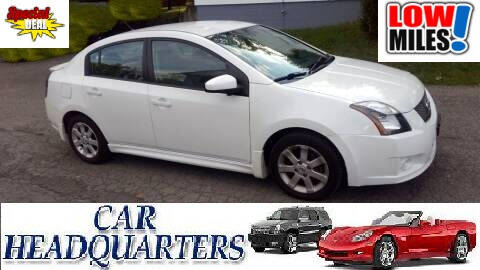 2010 Nissan Sentra for sale at CAR  HEADQUARTERS in New Windsor NY