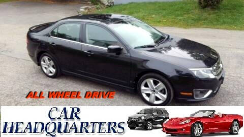 2010 Ford Fusion for sale at CAR  HEADQUARTERS in New Windsor NY