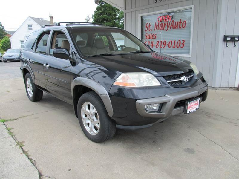 2001 acura mdx touring 4wd 4dr suv in hilliard oh st mary auto sales