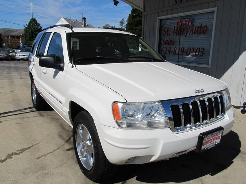2004 Jeep Grand Cherokee Limited 4WD 4dr SUV   Hilliard OH