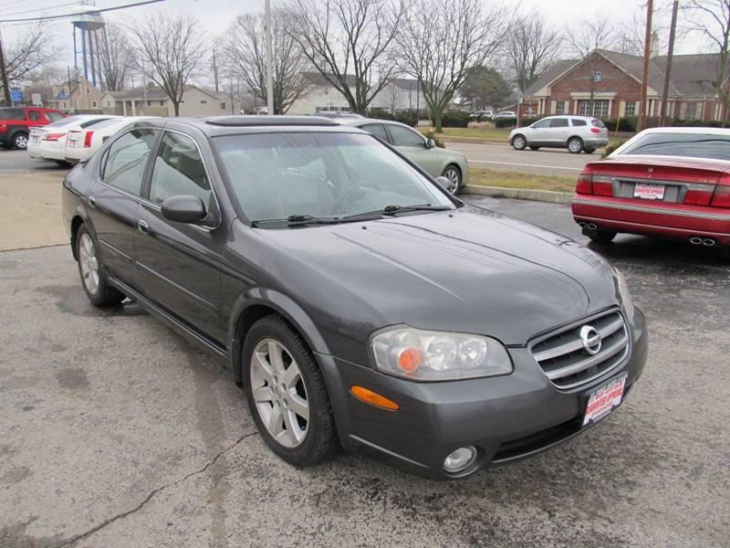2003 Nissan Maxima GLE 4dr Sedan   Hilliard OH