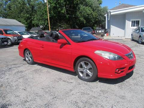 2007 Toyota Camry Solara for sale at St. Mary Auto Sales in Hilliard OH