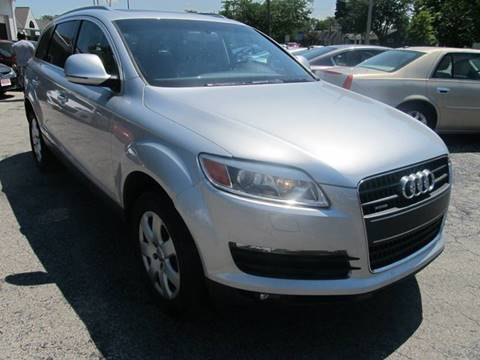 2007 Audi Q7 for sale at St. Mary Auto Sales in Hilliard OH