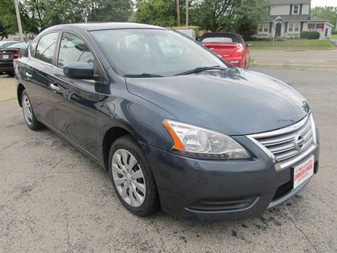 2014 Nissan Sentra for sale at St. Mary Auto Sales in Hilliard OH