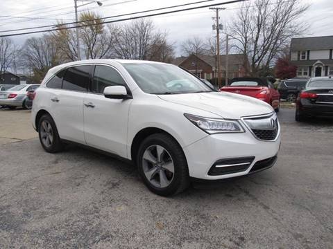 2016 Acura MDX for sale at St. Mary Auto Sales in Hilliard OH