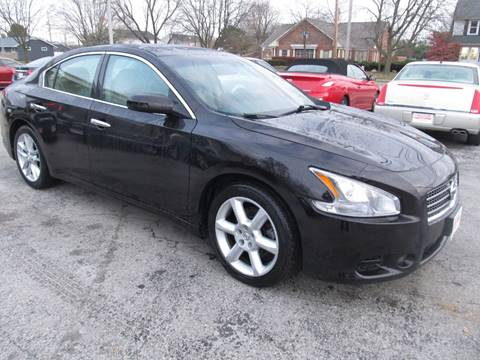 2010 Nissan Maxima for sale at St. Mary Auto Sales in Hilliard OH