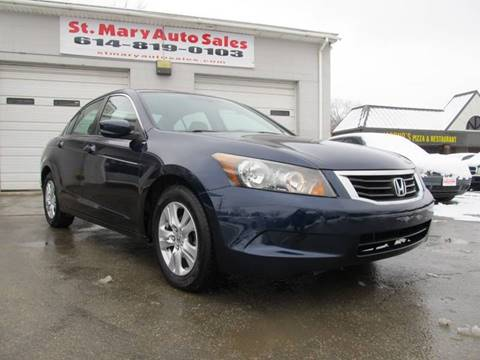 2008 Honda Accord for sale at St. Mary Auto Sales in Hilliard OH