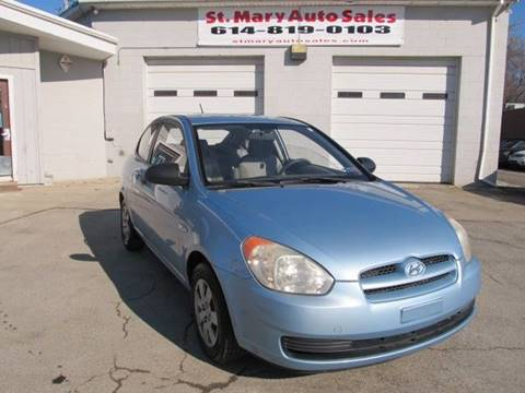2008 Hyundai Accent for sale at St. Mary Auto Sales in Hilliard OH
