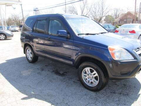 2002 Honda CR-V for sale at St. Mary Auto Sales in Hilliard OH