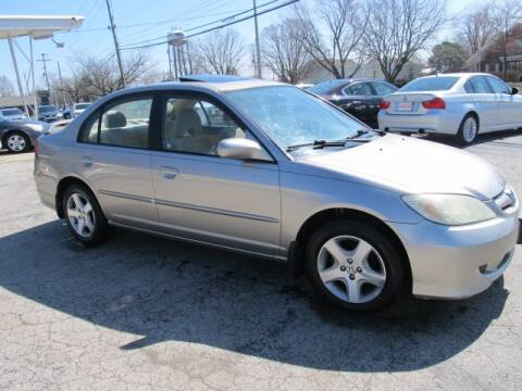 2004 Honda Civic for sale at St. Mary Auto Sales in Hilliard OH