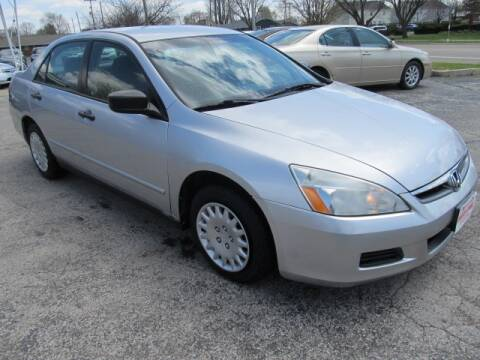 2007 Honda Accord for sale at St. Mary Auto Sales in Hilliard OH