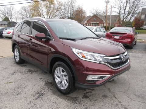 2015 Honda CR-V for sale at St. Mary Auto Sales in Hilliard OH