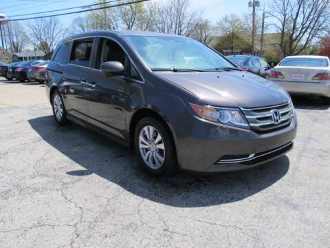 2015 Honda Odyssey for sale at St. Mary Auto Sales in Hilliard OH