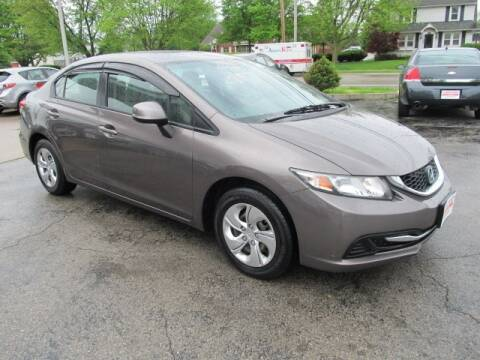 2013 Honda Civic for sale at St. Mary Auto Sales in Hilliard OH