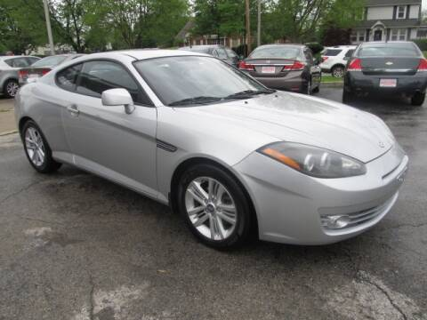 2008 Hyundai Tiburon for sale at St. Mary Auto Sales in Hilliard OH