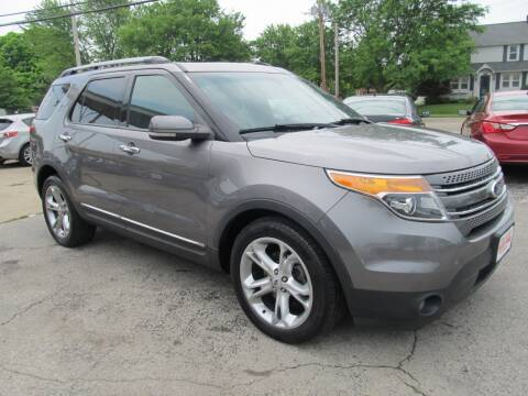 2012 Ford Explorer for sale at St. Mary Auto Sales in Hilliard OH