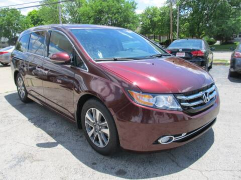 2017 Honda Odyssey for sale at St. Mary Auto Sales in Hilliard OH