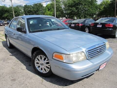 2004 Ford Crown Victoria for sale at St. Mary Auto Sales in Hilliard OH