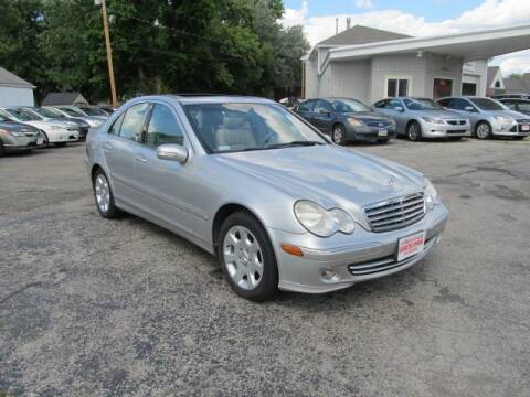 2005 Mercedes-Benz C-Class for sale at St. Mary Auto Sales in Hilliard OH