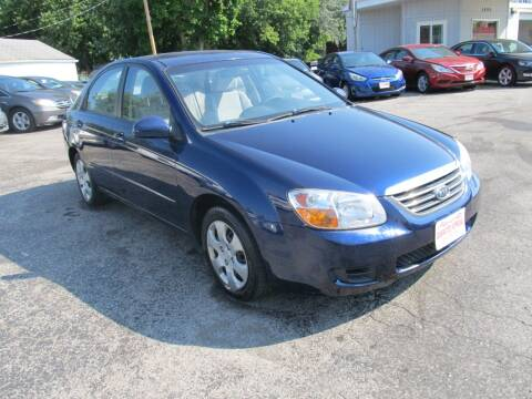 2008 Kia Spectra for sale at St. Mary Auto Sales in Hilliard OH