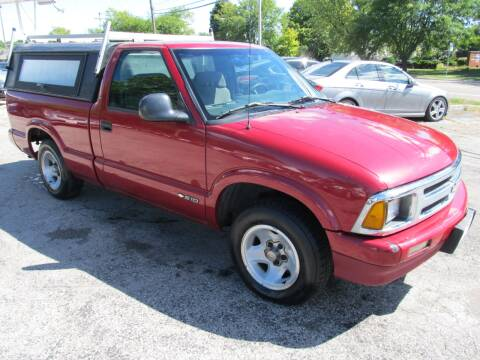 1997 Chevrolet S-10 for sale at St. Mary Auto Sales in Hilliard OH