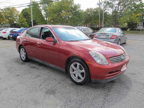 2003 Infiniti G35 for sale at St. Mary Auto Sales in Hilliard OH