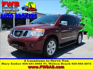 2010 Nissan Armada for sale in Mary Esther, FL