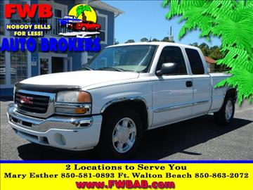 2005 GMC Sierra 1500 for sale in Mary Esther, FL